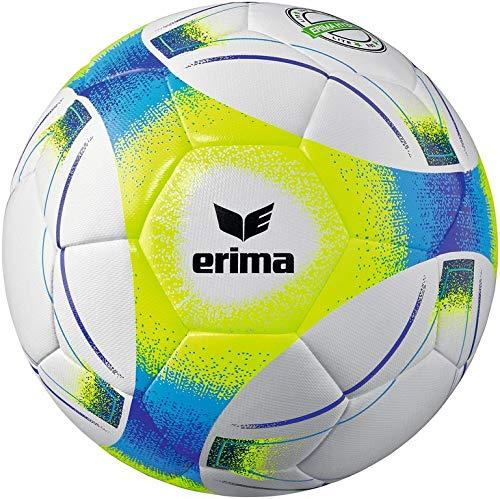 Erima Unisex- Erwachsene Hybrid Lite 290 Fußball, neon gelb/blau, 4