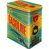 Nostalgic-Art Caja metálica de Estilo Retro - Gasoline