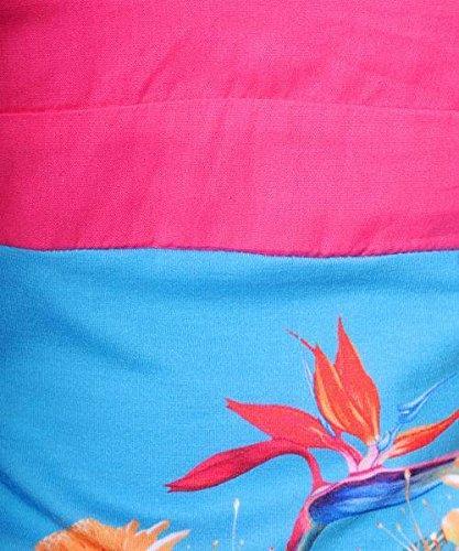 Smash - Robe - Femme Turquoise Pink