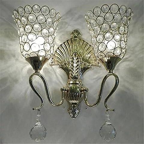 Larsure Vintage Industrial Style Wandleuchte Wandleuchte Lampe Golden Schlafzimmer Nachttischlampe Lampe restaurant Treppe Wandleuchte led Kristall Wandleuchte