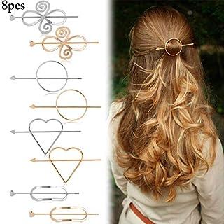 Aniwon Haarspange geometrische minimalistische Haarspange Haarnadel Haarschmuck für Frauen
