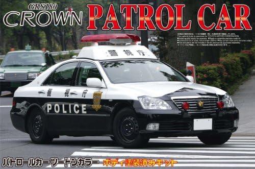 18 Crown Patrol Patrol Patrol Car Metropolitan Police DepartHommes t Steel Wheel Ver. (Model Car) | Qualité Et Quantité Assurée  bced76