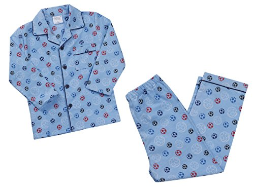 MINIKIDZ Infant Kids Girls Boys Flannel Buttoned Pyjamas Pj Set Warm Ages 2-6