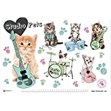 Grupo Erik Editores TSEH516 - Vade escolar con diseño Studio Pets Gatos
