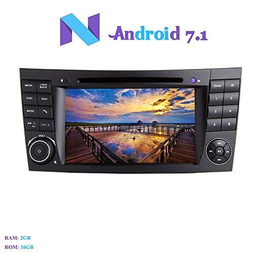 Hi-azul Android 7.1 Car Autoradio, 2 Din Navigationssystem 7