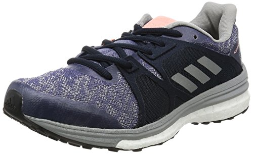 adidas Damen Supernova Sequence 9 Laufschuhe, Violett (Super Purple/Silver Metallic/Mid Grey), 41 1/3 EU (Adidas-sequence)