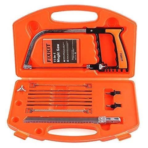 FIXKIT Multi Purpose 13 Pieces Handsaws Set DIY Tools Universal