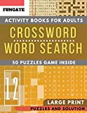 Crossword and Word Search Activity books: FunGate Puzzles books for adults Large Print | Wordsearch and Crossword Game to Challenge Your Brain (Adults & Seniors) (Puzzle books for adults Large Print)