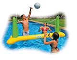 INFLATABLE VOLLEYBALL SWIMMING POOL GAME - FUN FOR WHOLE FAMILY! (94' x 25'...