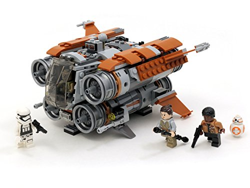 Review: Lego Star Wars Jakku Quadjumper Review