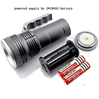 CREE R5 LED Torcia Flashlight Spotlight Searchlight 800 Lms 3Modes