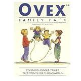 Ovex Pack familial 4 comprimés pour traitement de l'Enterobius vermicularis (oxyure)