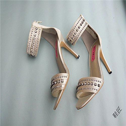 Lgk & fa estate sandali da donna con fondo piatto Mother scarpe scamosciate scarpe rialzate nappe maglia scarpe scarpe da donna Milky white