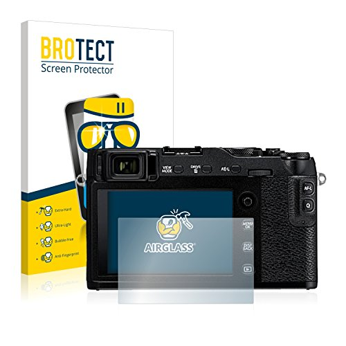brotect Protection Ecran Verre Compatible avec Fujifilm X-E3 Film Protecteur Vitre 9H Anti-Rayures, AirGlass