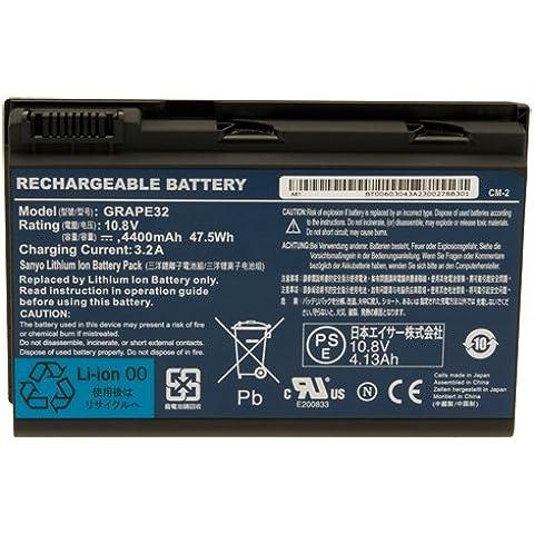 Original Acer - batería 10,8 V/4400 mAh Extensa 5620Z Serie