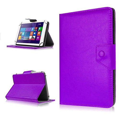NAUC Tasche Schutz Hülle für Dell Venue 10 Pro Tablet Schutzhülle Case Cover Farbwahl, Farben:Lila