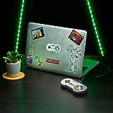 Paladone- Super Nintendo Pegatinas para portátil