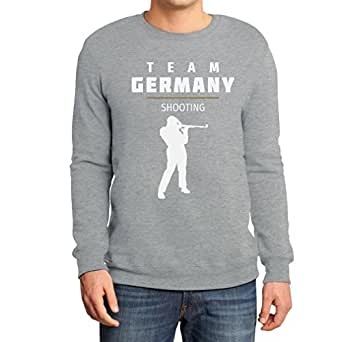 Shooting Team Germany – Schießen Fan Motiv Olympia Sweatshirt