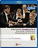 BRUCKNER: Symphony No. 5 (Semperoper Dresden, 2013) [Blu-ray]