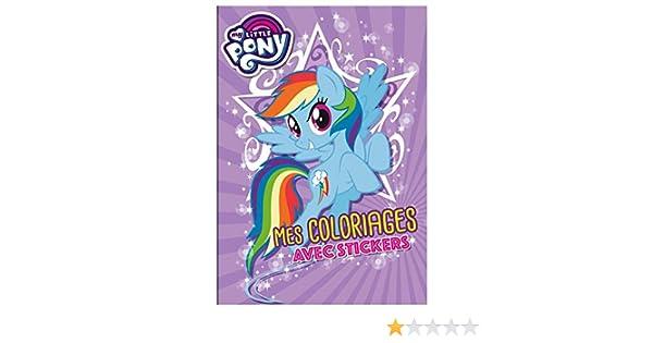 Coloriage De Bebe Tout Nu.My Little Pony Coloriages Amazon Fr Hasbro Livres
