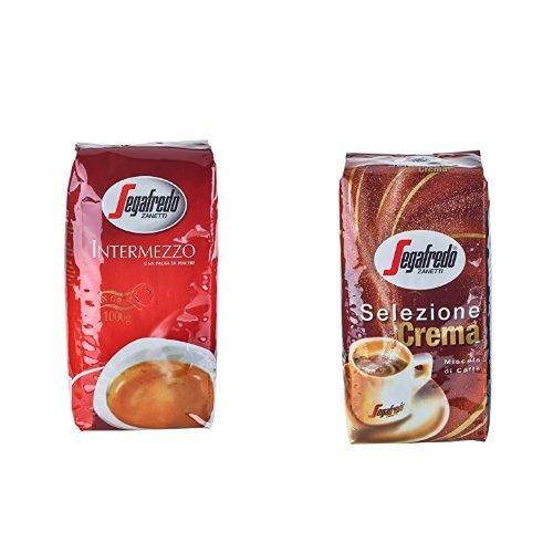 6kg Segafredo Zanetti Sparpaket - 3kg Intermezzo Espresso & 3kg Selezione Crema