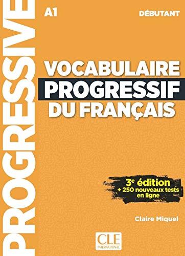 Vocabulaire progressif du français - Niveau débutant - 3ème édition - Livre + CD + Appli-web