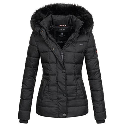 Marikoo warme Damen Winter Jacke Steppjacke Winterjacke gesteppt Parka B391