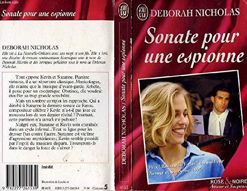 Sonate pour une espionne par Deborah Nicholas
