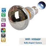 Balscw-J HD 960 Netzwerkkamera LED-Licht Wi-Fi 5W Nachtsichtlicht und Bewegungserkennung von Überwachungskamera Zwei-Wege-Gespräch