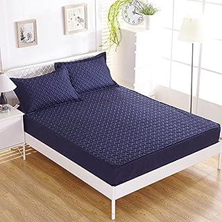 FHFGHYURBNYFGHFBY Bettlaken/Bett Sets/tagesdecke/matratzenbezug/wasserdicht und Dicker Anti-mite-matratze schutzhülle-B 120x200cm(47x79inch)