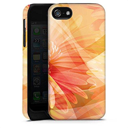 Apple iPhone X Silikon Hülle Case Schutzhülle Blüten Blumen Pflanzen Tough Case matt
