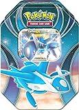 Pokemon 25811 Tin 52 Latios, Metallbox, blau