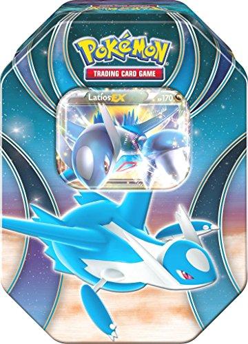 Ex Latios Karten Pokemon (Pokemon 25811 Tin 52 Latios, Metallbox, blau)
