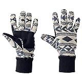Jack Wolfskin Damen Fingerhandschuhe blau M