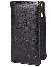 Hidekraft Leather Credit Card Holder (Black)