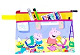 #7: Magnas Peppa Pig - Kid'S A4 Size Folder For School Projects, Important Document Folder,Results Folder With Pencil, Sharpner, Pen,Etc