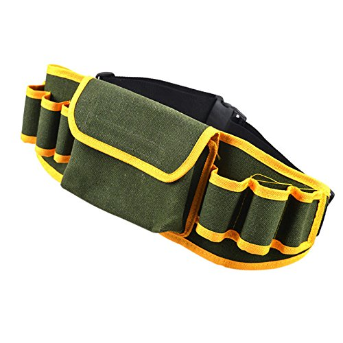 Multifunctional Tool Bag Pouch Holder Electrician Waist Pack Belt Work Toolkit