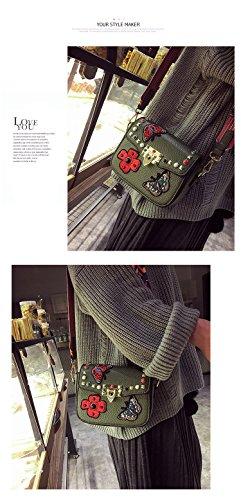 Badiya , Damen Clutch Woman, grün (grün) - MGB05264GN Grün