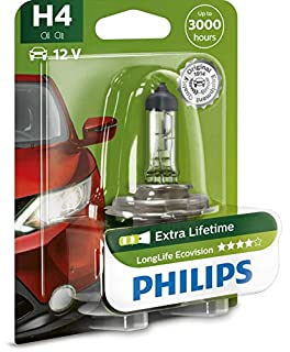 Philips 0730517 12342LLECOB1 LongLife EcoVision H4 Headlight Lamp Blister Pack (B005L9EZP6) | Amazon price tracker / tracking, Amazon price history charts, Amazon price watches, Amazon price drop alerts
