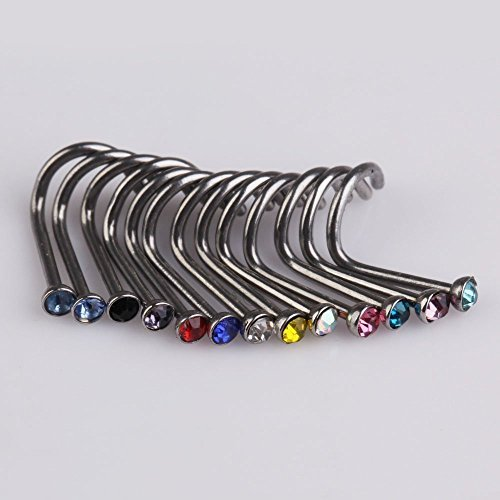 adecco-llc-20pcs-mix-colors-rhinestone-nose-studs-ring-bone-bar-pin-piercing-jewelry-by-adecco-llc