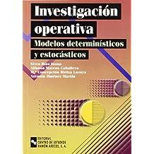 Investigación operativa: modelos determinísticos y estocásticos (Manuales)