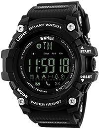 Skmei Relojes Digital Hombre Deportivos Smartwatch IOS Android Bluetooth 5 ATM Impermeable Quartz