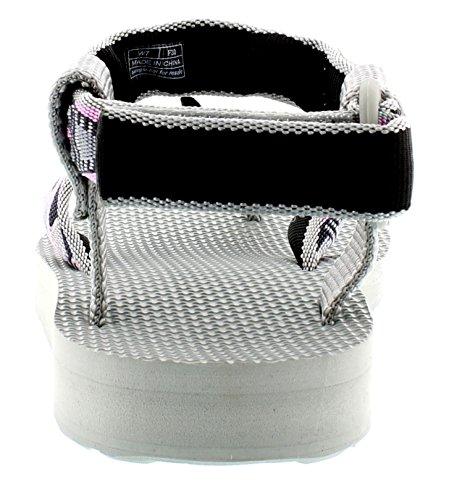 Teva Original Sandal W's, Sandales sport et outdoor femme Rose (Mosaïque 878)