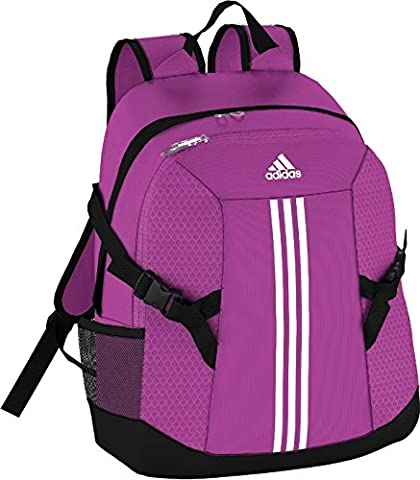 adidas Herren Rucksack Power 2, flash pink S15/white/black, 32 x 18 x 44 cm, 25 Liter, S23112 (Mannschaft Sport)
