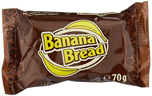 flapjack riegel Davina Oat Snack Riegel, Banana Bread, 30 x 70 g, 1er Pack (1 x 2,1 kg)
