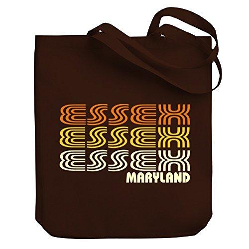 Teeburon Essex retro color - Bereich für Taschen (Essex Leinen)