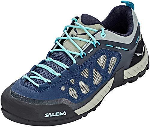 Salewa Firetail 3 Approach Shoes Women Dark Denim/Aruba Blue Schuhgröße UK 7 | EU 40,5 2018 Schuhe Womens Dark Denim
