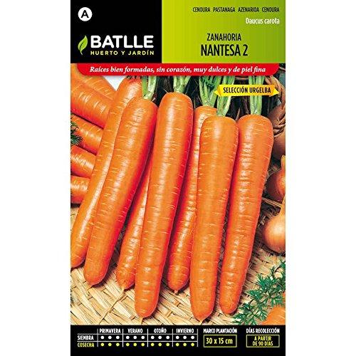Batlle - Semillas De Zanahoria Nantesa 2 Urgelba