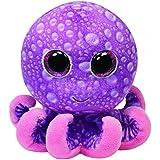 TY 34104 - Legs Buddy - Octopus mit Glitzeraugen, groß, 24 cm, pink/violett