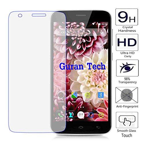 Guran® Displayschutz Glasfolie für DOOGEE Valencia2 Y100 Plus (5.5zoll) Smartphone Screen Bildschirm Hartglas Schutzfolie Film